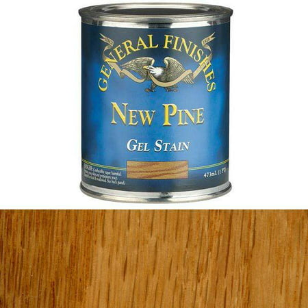 - General Finishes Oil Based Gel Stain (Pint, New Pine)