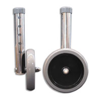 Walker Wheels Attachments By Guardian - 5 Inches