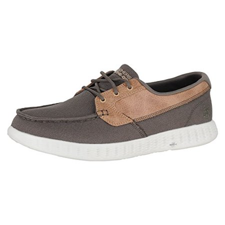 Skechers Mens OTG Glide High Seas Boat Shoes 11 Khaki