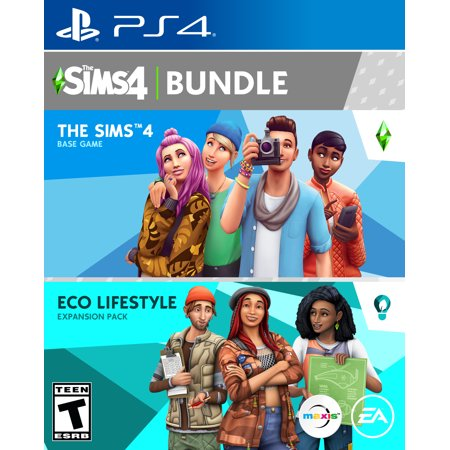 The Sims™ 4 Plus Eco Lifestyle Expansion Pack, Electronic Arts, PlayStation 4, 014633344330
