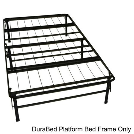 Durabed Twin Size Heavy Duty Steel Foundation Frame In One
