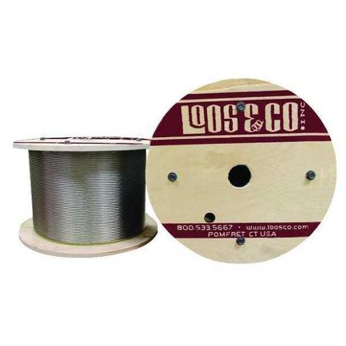 LOOS SC12519L Cable,250 ft. L,1/8 in.,420 lb. G2415631
