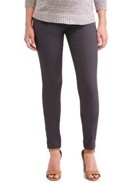 Maternity Demi Panel 5 Pocket Skinny Pants - Available in Plus Sizes