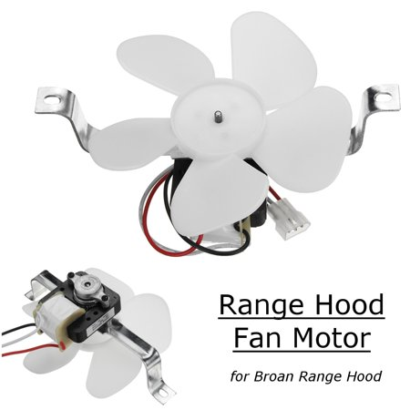 97012248 2-Speed White Range Hood Vent Fan Motor 120V Replacement For  97012248 Broan US