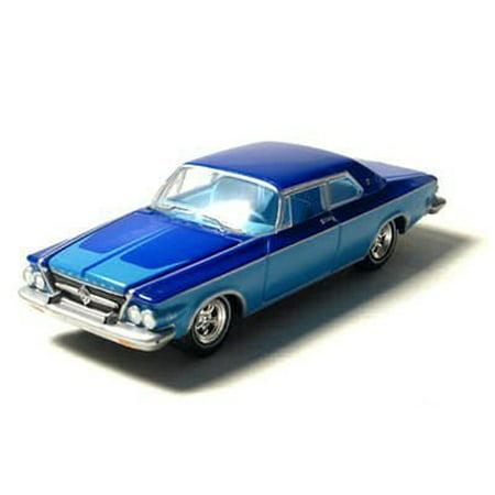 Chrysler Muscle Cars - GreenLight 1963 Blue Chrysler 300J - Custom Color-B 1:64 GreenLight Muscle Car Garage by Greenlight