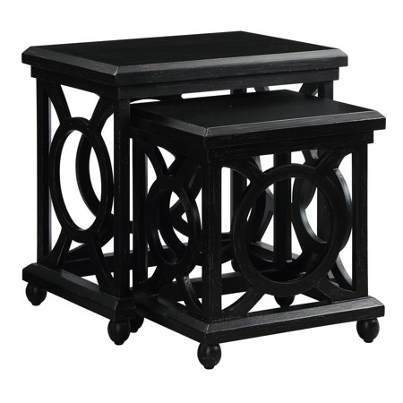 Walden Distressed Black Nested