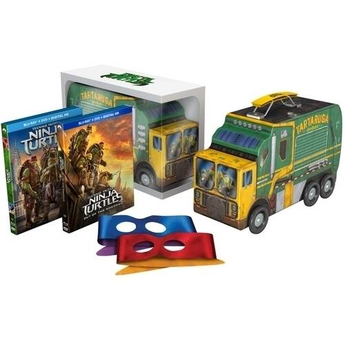 Teenage Mutant Ninja Turtles: Out Of The Shadows (Blu-ray + DVD + Digital HD + Lunch Box Gift Set) (With INSTAWATCH)