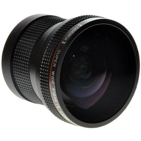 Opteka 0.20X Professional Super AF Fisheye Lens for Nikon D4s, D4, D3x, Df, D810, D800, D750, D610, D600, D7200, D7100, D7000, D5500, D5300, D5200, D5100, D3300, D3200 and D3100 Digital SLR