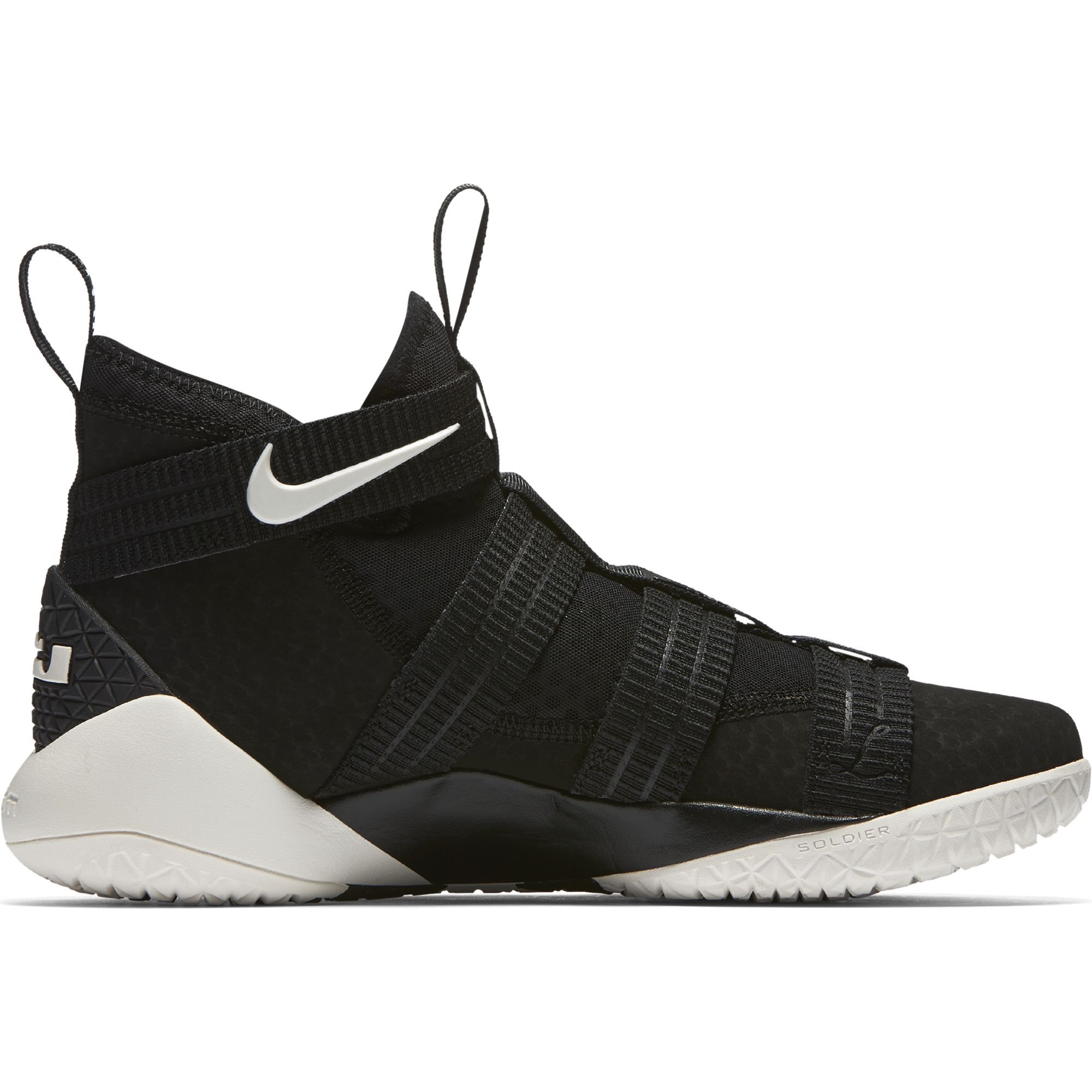 Nike Men\u0027s LeBron Soldier XI SFG Basketball Shoe BLACK/SAIL-RACER BLUE 7.5  - Walmart.com