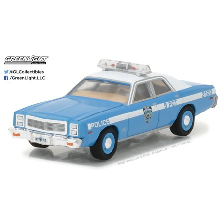 Greenlight 1:64 Hot Pursuit Series 24 1977 Plymouth Fury NYC Police Department