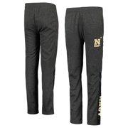 Navy Midshipmen Colosseum Youth Fleece Pants - Heathered Charcoal