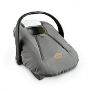 Cozy Cover Infant Carrier Cover, Secure Baby Car Seat Cover, Gray