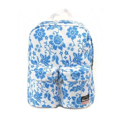 Alpine Swiss Major Back Pack Bookbag School Bag Daypack 1 Year Warranty (Best Places To Backpack Alone)