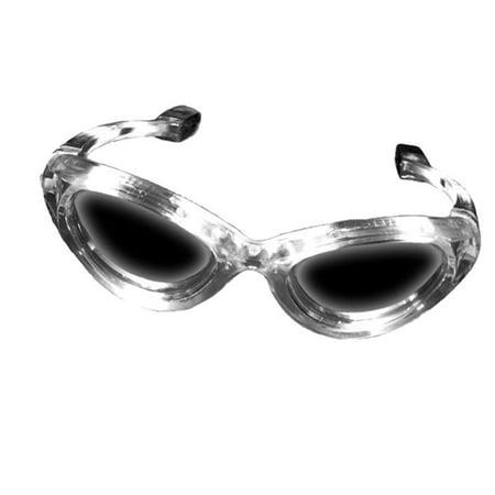 white led light up flashing novelty party sunglasses](Windy Novelties)