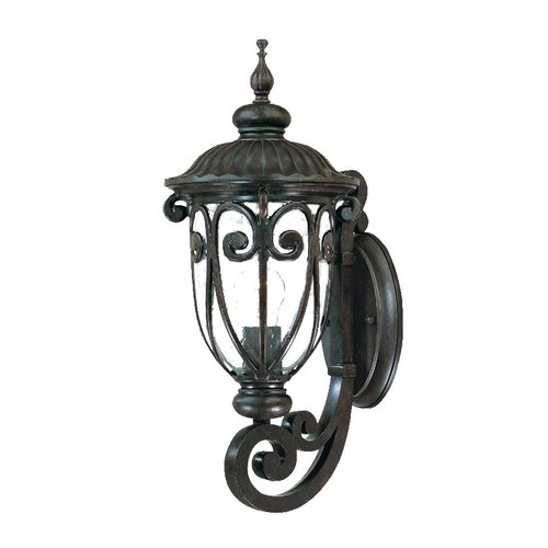 Astoria Grand Appalachian 1-Light Outdoor Cast Aluminium Sconce