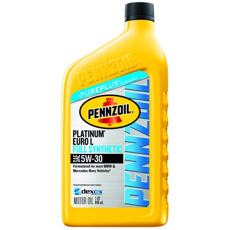 Pennzoil platinum euro l sae 5w 30 full synthetic motor for Pennzoil 5w 30 synthetic motor oil