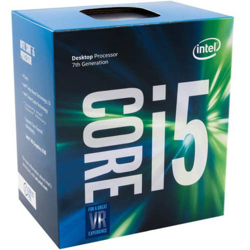 Intel Core i5 7600K Kaby Lake 3.80 GHz Quad-Core LGA 1151 6MB Cache Desktop Processor - BX80677I57600K