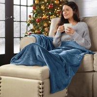 BrylaneHome Foot Pocket Blanket