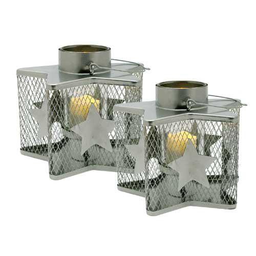 Pacific Accents Williamsburg Tea Light (Set of 2)