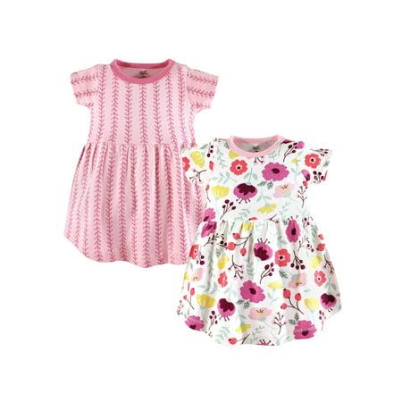 Toddler Organic Dress 2pk (Toddler Girls) (5t Christmas Dresses)