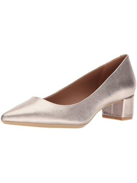 Calvin Klein Womens Genoveva Glsy Closed Toe Classic Pumps