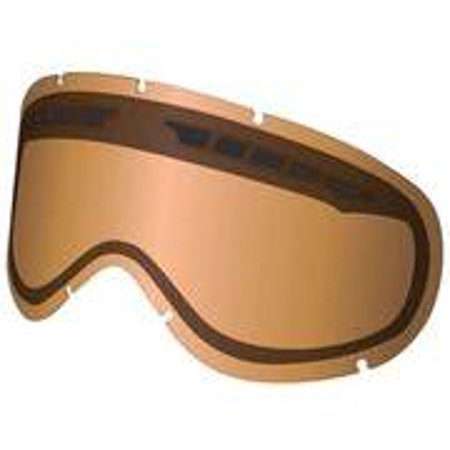Dragon Alliance Replacement Dual Lens for Vendetta Goggles - Amber (Dragon Vendetta Goggles)