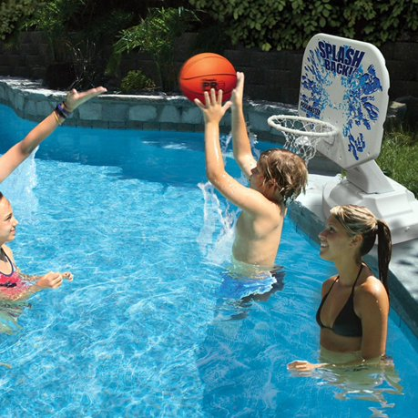 45 Splashback Poolside Basketball Swimming Pool Game