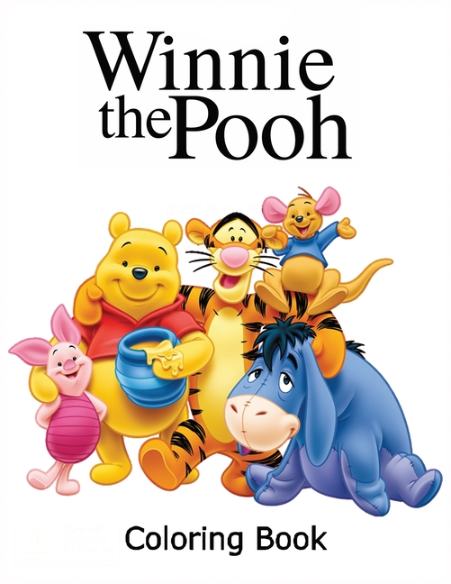 - Winnie The Pooh Coloring Book : Coloring Book For Kids And Adults With Fun,  Easy, And Relaxing Coloring Pages (Coloring Books For Adults And Kids 2-4  4-8 8-12+) (Paperback) - Walmart.com - Walmart.com