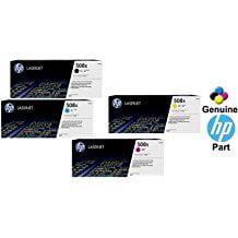 HP 508X Color LaserJet M553/ M577 Original Toner Cartridges, 4-Pack: Black, Cyan, Magenta & Yellow