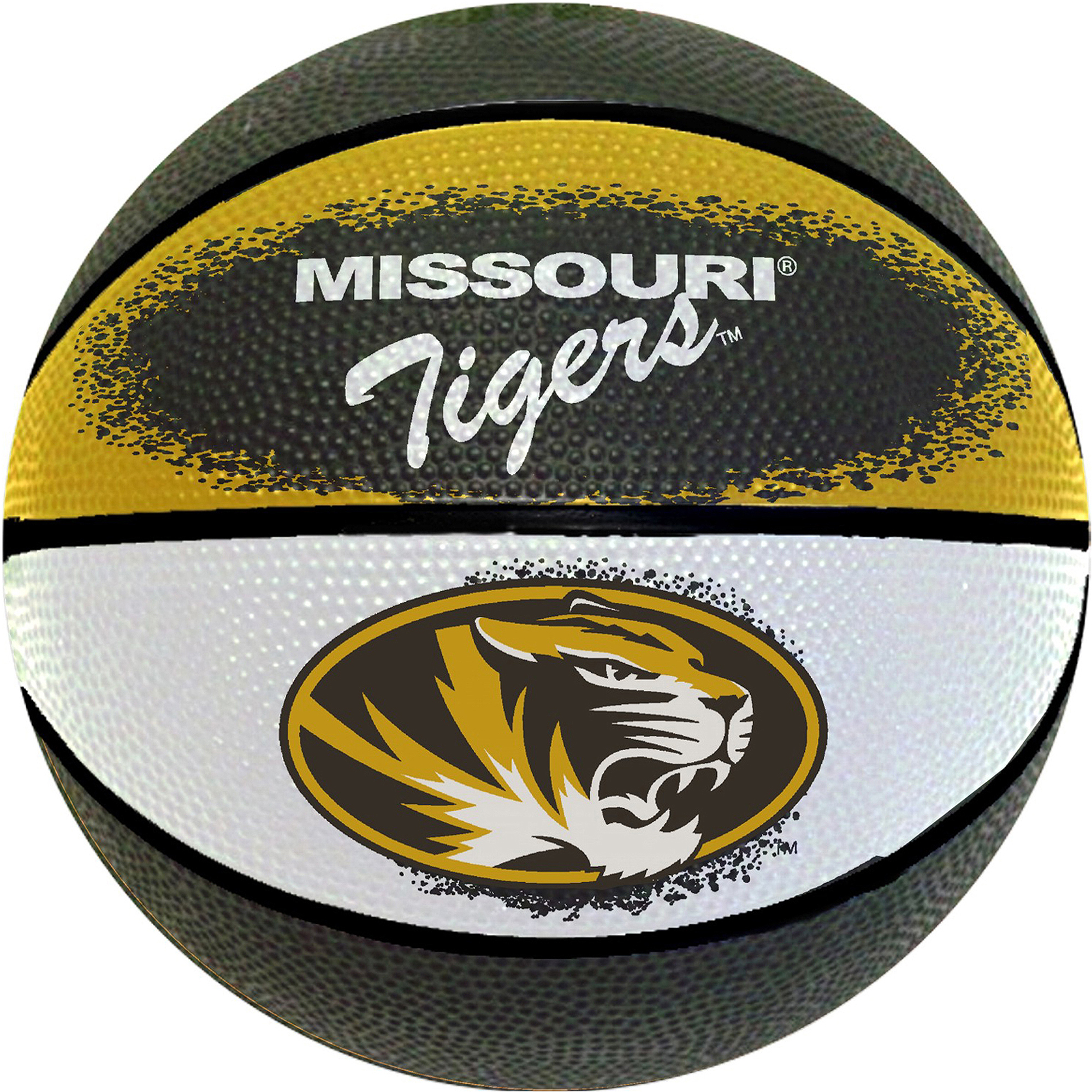 "Game Master NCAA 7"" Mini Basketball, University of Missouri Tigers"