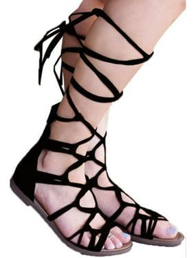 Unbranded Donna Sandalos & & Sandalos Flip flops Walmart  0d53e5