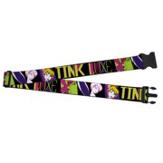 Buckle Down  Tink Luxe Neon Tinkerbell Sketch Luggage Strap