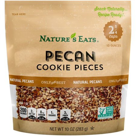 Nature's Eats Pecan Cookie Pieces, 10 oz - Ingredients For Halloween Cookies