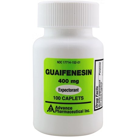 Mucus Relief Guaifenesin 400 mg 100 Tablets Generic for Mucinex Chest Congestion Immediate (Best Way To Relieve Congestion)