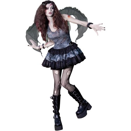 Zombie Fairy Teen Halloween Costume