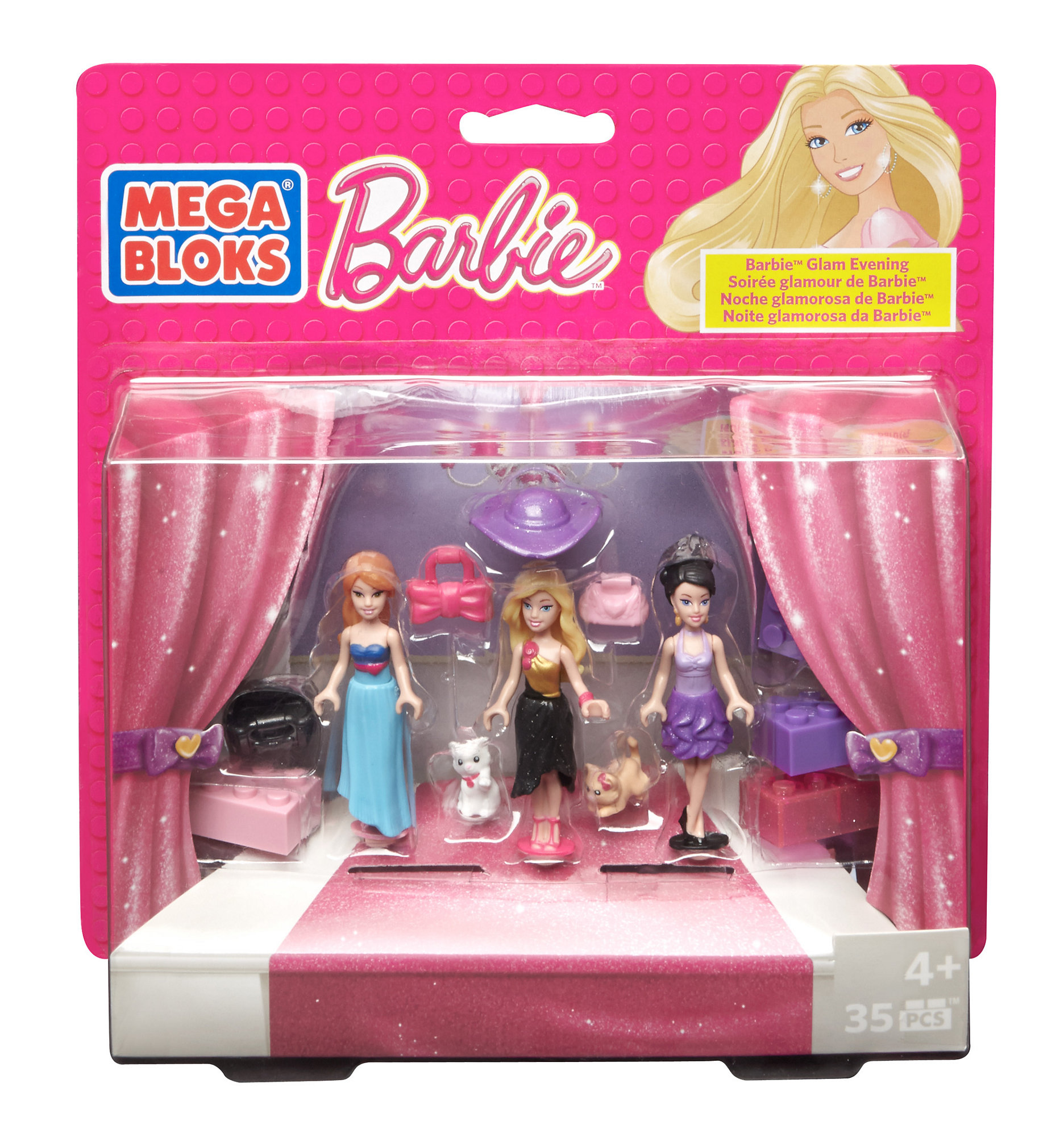Mega Bloks Barbie Glam Evening