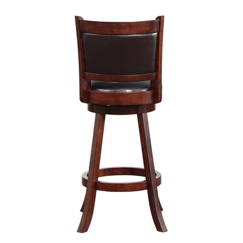 Boraam Rhea 29 Quot Swivel Bar Stool In Hazelnut