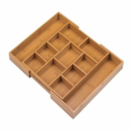 Home Decor Expandable Bamboo Drawer Organizer by