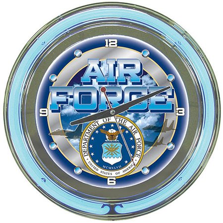 Us air force wall clocks for man cave decor and gifts for Decor 6 form air force