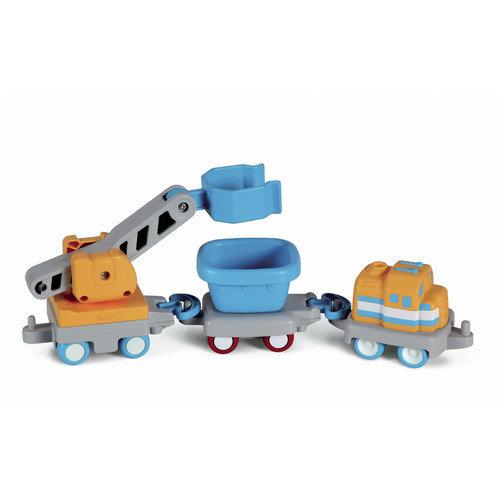 Little People Big Adv Rail 'n Road Set Vehicles (3pk)