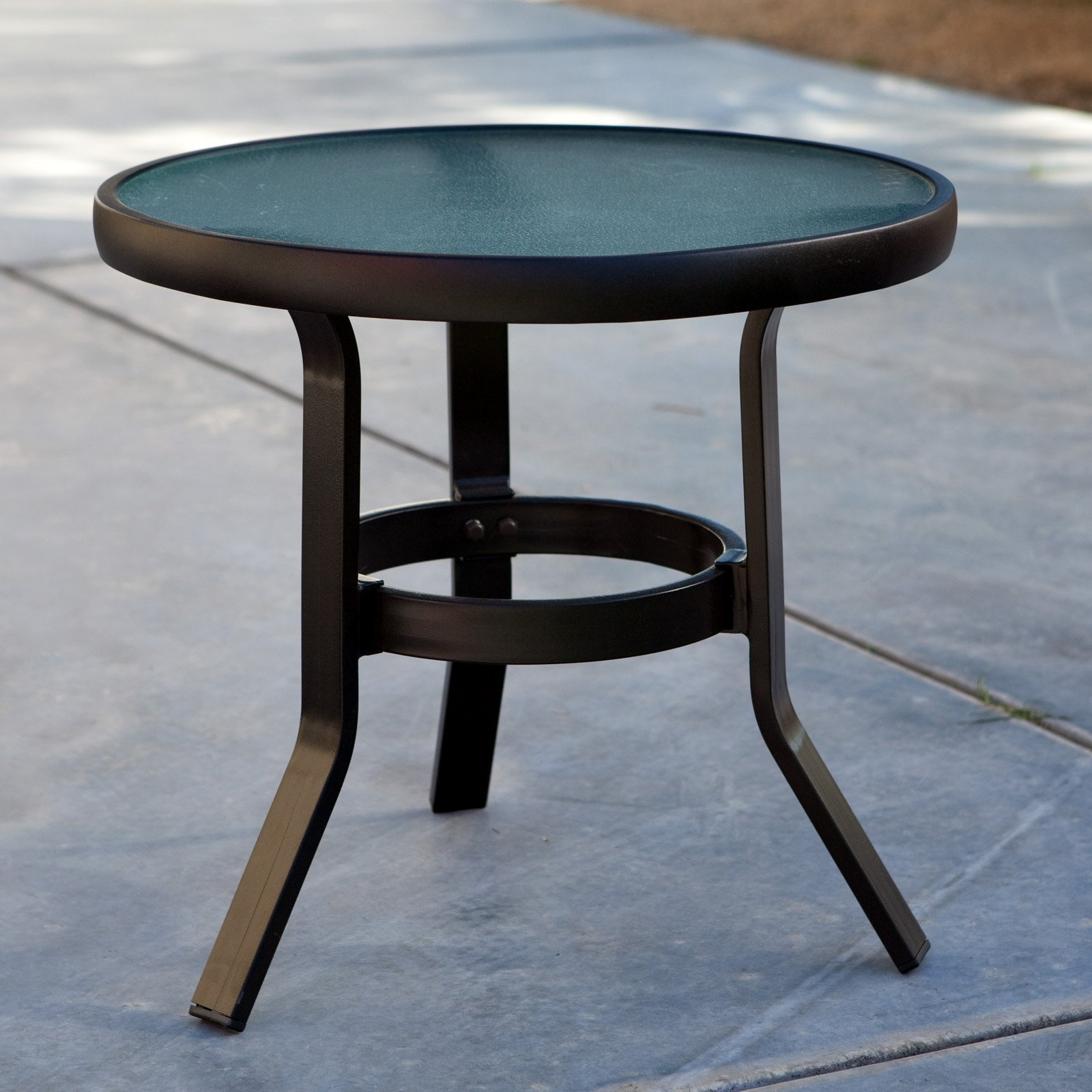 Coral Coast Del Rey 20 in. Patio Side Table by Terrace Living Company LLC