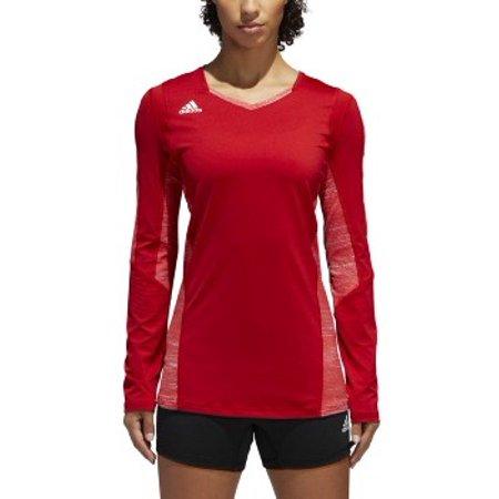 cb80e5bd adidas - Adidas Women's Volleyball Quickset Long Sleeve Jersey Adidas -  Ships Directly F - Walmart.com