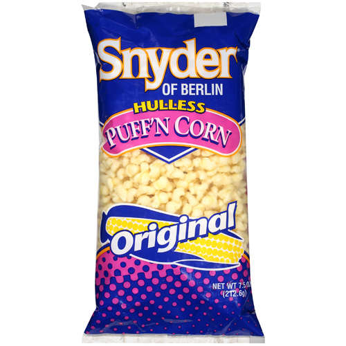 Snyder Of Berlin Original Hulless Puff'n Corn, 7.5 oz