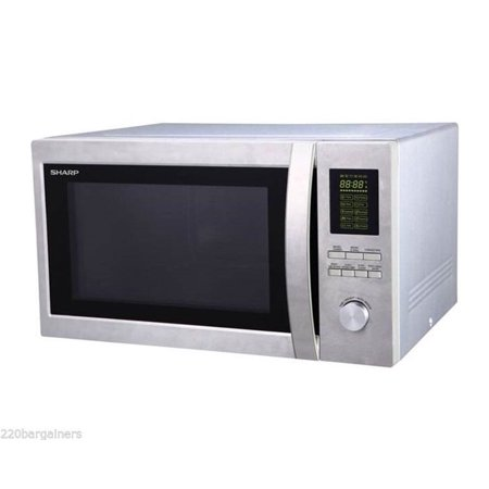 Sharp 220 Volt 43l Large Combination Microwave Oven With Grill 220v 240v 50hz Will Not