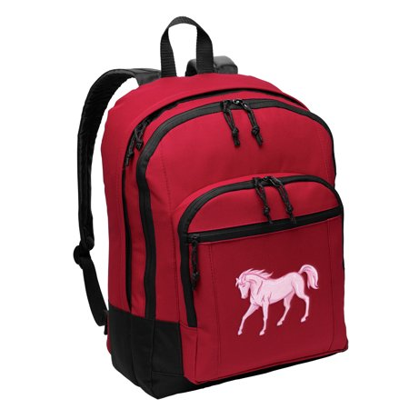 Horse Backpack MEDIUM SIZE Horse Theme Backpacks & School - Horse Themed School Supplies