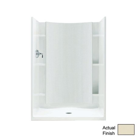 Sterling Accord 37-1/4 in. x 42 in. x 77 in. Shower Kit with Age-in ...