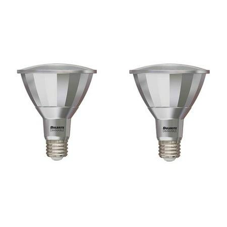 Bulbrite Industries E26 Dimmable LED Spotlight Light Bulb (Set of 2)