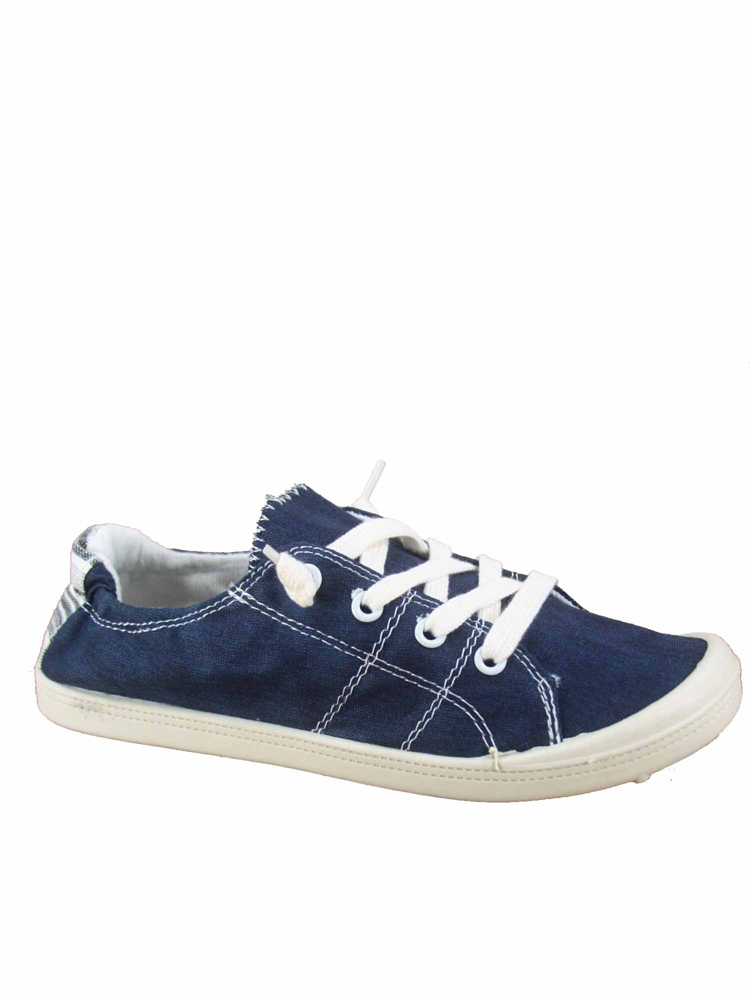Round Toe Flat Sneaker Shoes