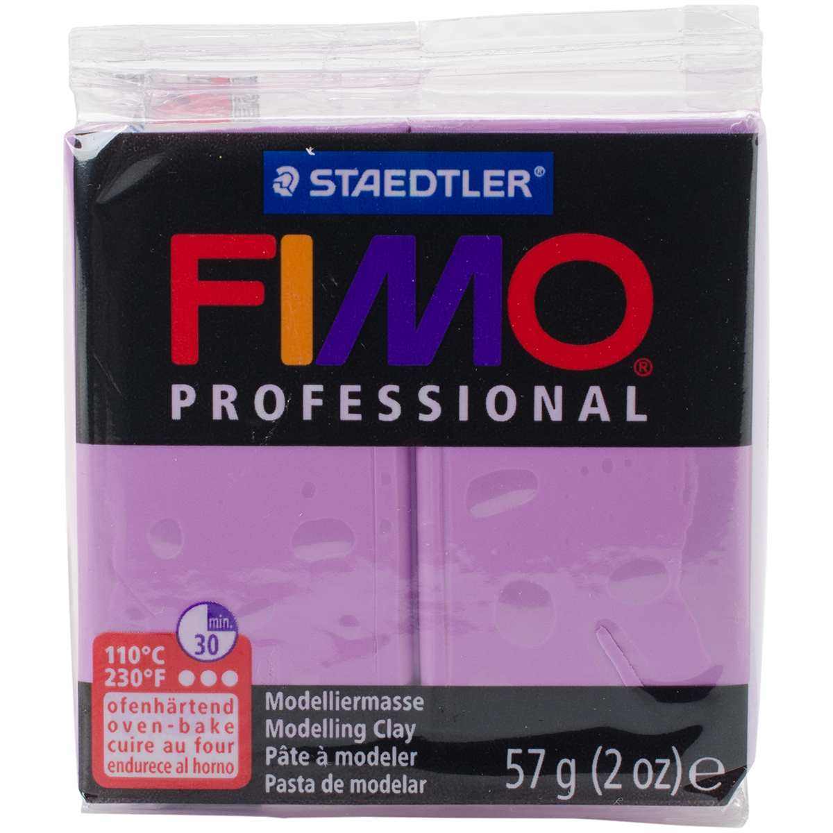 Fimo Professional Soft Polymer Clay 2oz-Lavender