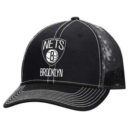 "Brooklyn Nets Adidas NBA ""City Pulse"" Structured Adjustable Hat"